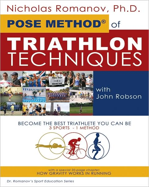 POSE METHOD OF TRIATHLON - Buch Vorderseite
